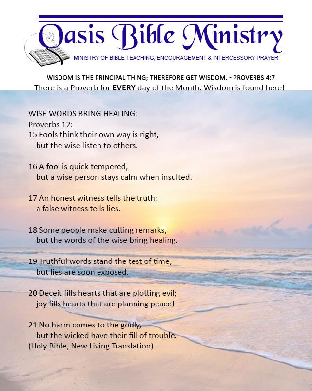 077 Proverbs 12_15-21