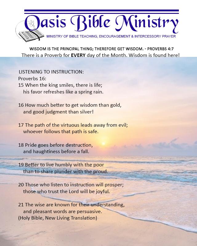 081 Proverbs 16_15-21