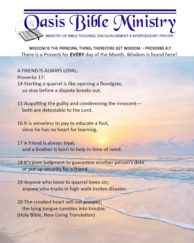 082 Proverbs 17_14-20