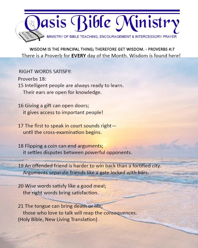 083 Proverbs 18_15-21