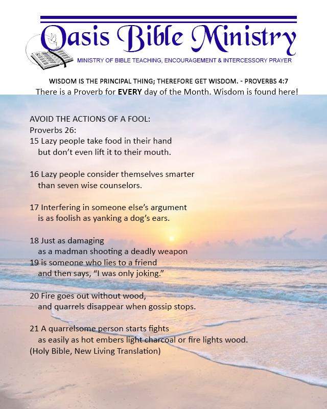 091 Proverbs 26_15-21