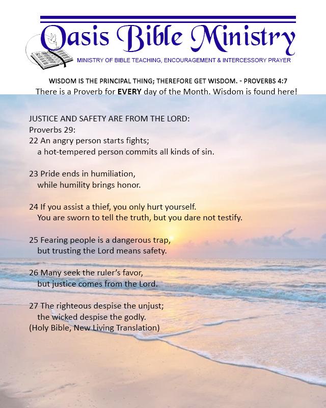 123 Proverbs 29_22-27