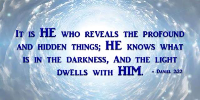 god reveals secrets