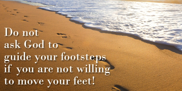 guiding footsteps