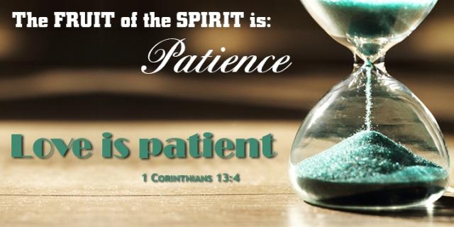 im love is patient