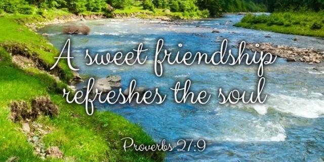 sweet friendship is refreshing im