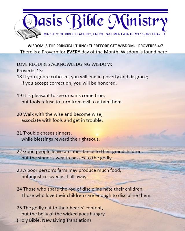 106 Proverbs 13_18-25