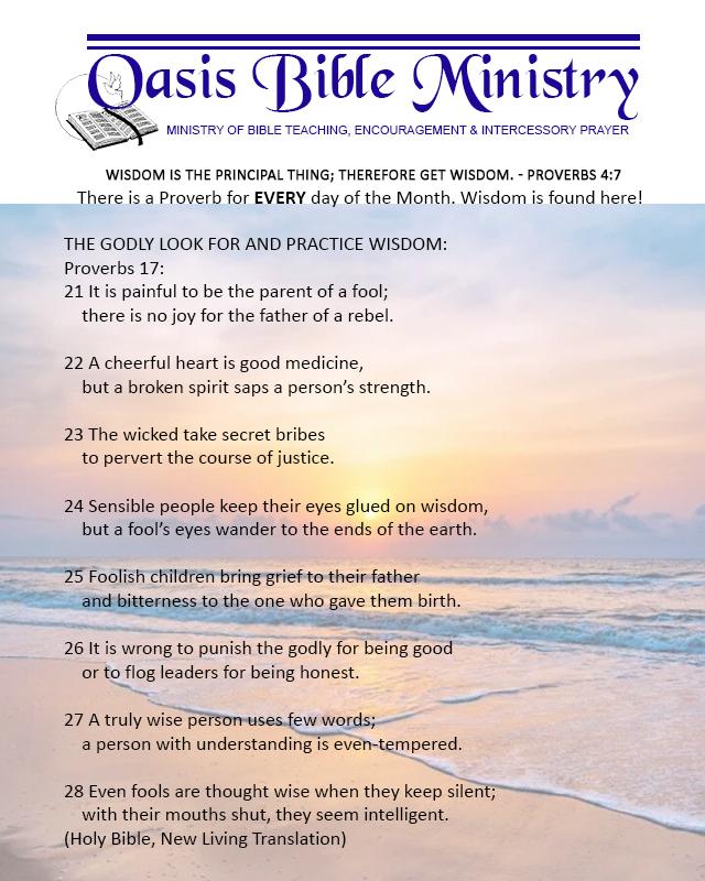 110 Proverbs 17_21-28