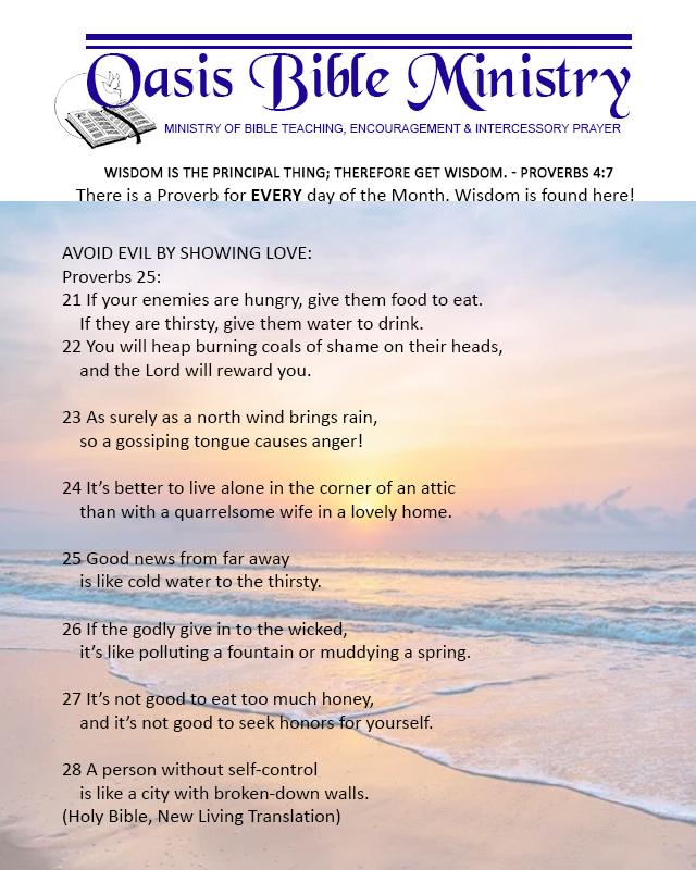 118 Proverbs 25_21-28
