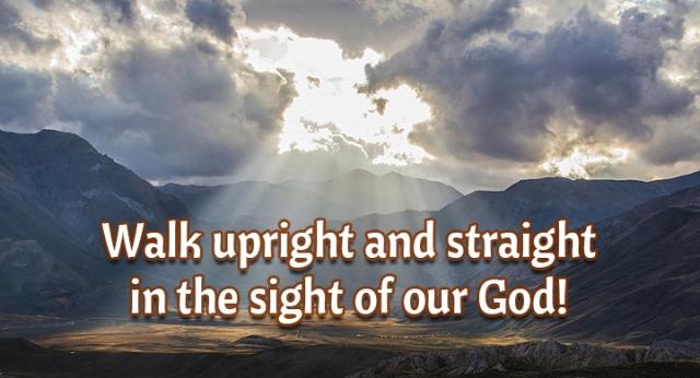 ns walk in the full sight of God