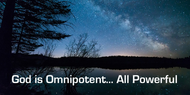 pd God is omnipotent