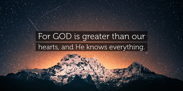 pd God knows everything