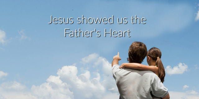 pd jesus showed the father's heart